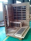 Infrarotkabine / Wärmekabine / Sauna - ECK ! für 4 Personen SONDERAKTION - 3
