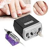 Torno para uñas para manicura y pedicura de bajo ruido mini-máquina de pulido eléctrico de metal
