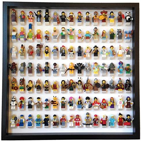Expositor 105 Minifigures Lego - Marco Negro Bricks