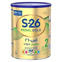 Wyeth Nutrition S26 Promil Gold Stage 2, 6-12 Months Premium Follow On Formula for Babies Tin with Nutrilearn System - 900 gm