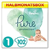 Pampers Pure Protection Lot de 102 boîtes de 2 à 5 kg