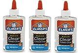 Elmers Liquid School Glue, Washable, 3Pack (5 oz), Clear