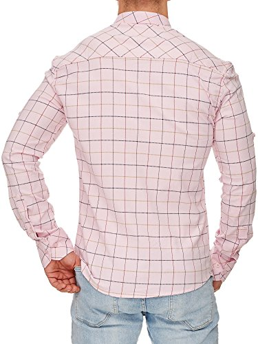 Tazzio - Chemise casual - Homme Rose
