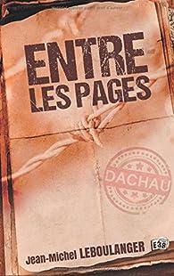 Entre les pages par Jean-Michel Leboulanger