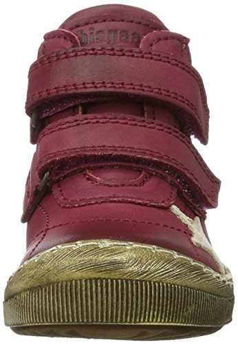 Bisgaard - Klettschuhe, Pantofole a Stivaletto Unisex – Bambini Pink (4000 Pink)