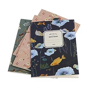 Manyo 4pcs Cuaderno, Diario, Libreta,