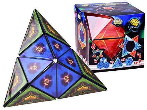 BSD Logikspiel - 3D Shape Shifting Puzzle Spielzeug - Geometric Puzzle