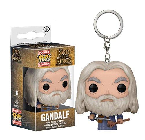 ket Pop - Vinyl Schlüsselanhänger - Gandalf (Bilbo Beutlin Kostüm Für Herren)