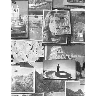 Andrew Martin International - Wallpaper/Wallcoverings - Pinboard Charcoal Wallpaper