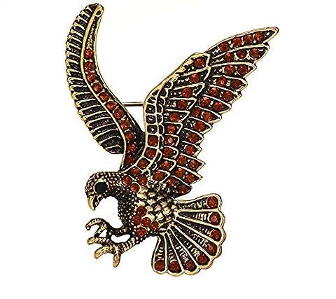 Costume Trifari Bijoux - hommes Broche Totem mode personnalité animal aigle