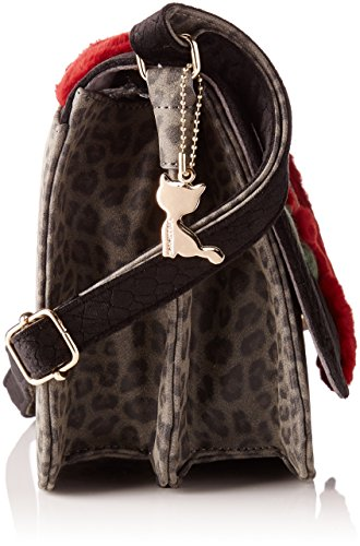 Lollipops - Africa Shoulder, Borse a spalla Donna Nero (Black)