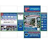 Terrasse Zerstäuberfunktion Farbsystem Niederdruck–UV-behandelt Flexible Tubing–Messing/Edelstahl–für Terrasse, Pavillon, Pool und Spielflächen GMC524-GMC524 beige