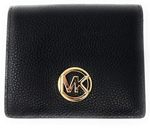 Michael kors fulton carryall card case small wallet (black)