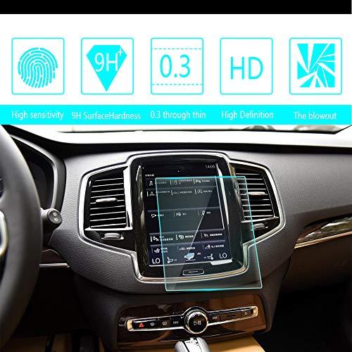 Auto Navigation Glas Schutzfolie Für 2015 2016 2017 2018 Vol vo XC90 8-Inch 180 * 135mm Displayschutzfolie HD Kratzfest Anti-Fingerprint GPS Navi Folie