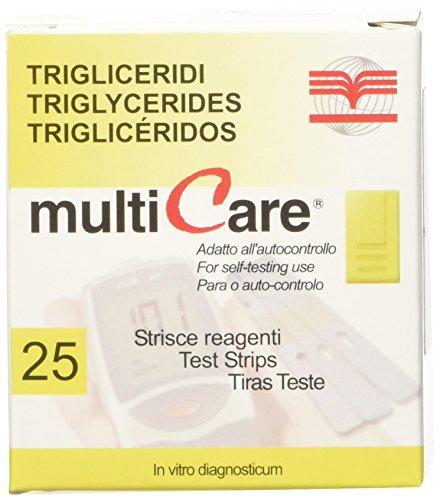 MultiCare (alt) Teststreifen Triglyceride 25 Stück