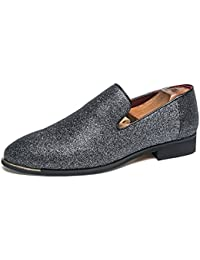 Men s Slip-On Penny Loafer Party Shoes Wedding Dress Work Formal Oxford a39f86ff2