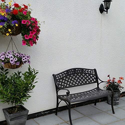 Lazy Susan – ROSE Gartenbank aus Aluminium - 3