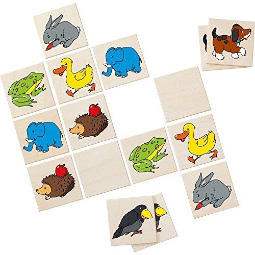 Memo Meine ersten Tiere: Klassisches Memo mit ersten Tiermotiven