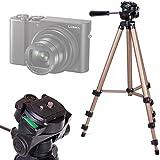 DURAGADGET Trépied ajustable solide pour appareil photo Panasonic Lumix DMC-ZS100 et Lumix TZ100/SZ100 compact numérique - qualité professionnelle