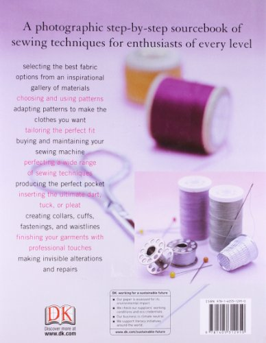 Complete Book Of Sewing (Needlecraft)