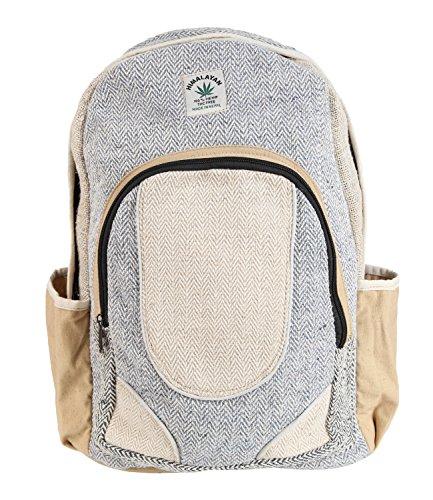 La ropa Hippy Co.-cáñamo mochila para portátil