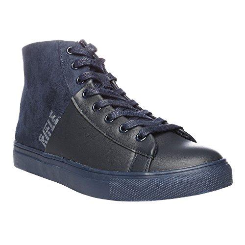 RIFLE Chaussures Femme, Haute Avec Lacets. mod. 162-W-303-338 Bleu Marine - Bleu