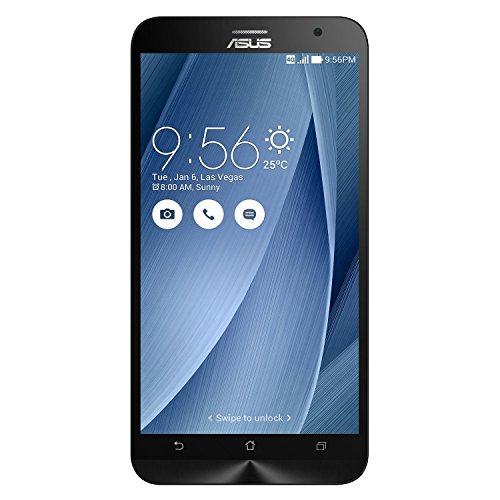 Asus Zenfone 2 ZE551ML (Silver, 32GB) (Certified Refurbished)