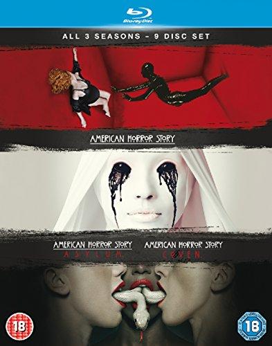 American Horror Story - Staffel 1-3 [Blu-ray] [UK-Import] (1 Lange Box)