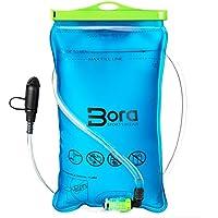 BORA.sportswear Trinkblase 2L mit Beissventil - BPA-frei, antibakteriell und auslaufsicher für jeden Trinkrucksack