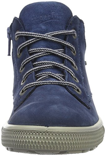 93 Swagy 700443 Jungen niagara Hohe Superfit Sneakers Blau ZzRqW7w