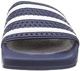 adidas Adilette, Herren Dusch- & Badeschuhe, Blau (Adiblue/White/Adiblue), 43 EU (9 Herren UK) - 4