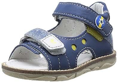 Noël Mini Holo, Chaussures basses à scratch bébé garçon - 10 Denim, 19 EU (3 UK) (3.5 US)
