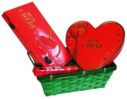 Coffret Cadeau Saint Valentin avec Ferrero Mon Chéri (avec 3 pièces)