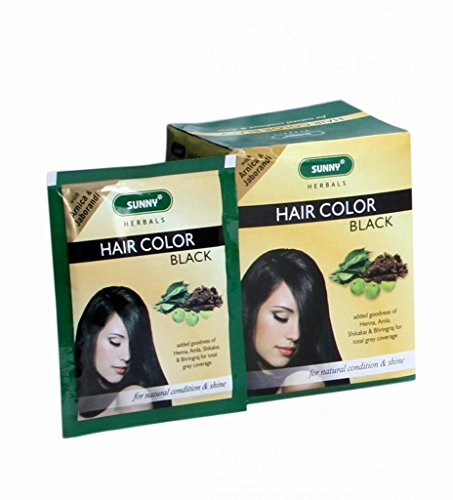 Baksons Herbal Hair Color (Black) - Pack Of 12