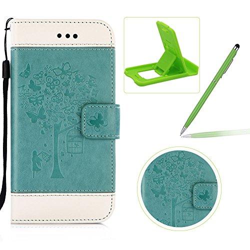 Für Samsung Galaxy S7 Edge PU Leder Brieftasche Abdeckung, Herzzer Gute Qualität Leder Behandlung...