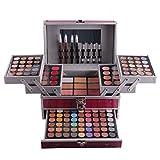 Pure VieR Professionelle 132 Farben Lidschatten Concealer Rouge und Lipgloss Palette Makeup Kit #N1 - Ideal fur Sowohl den Professionellen als auch Personlichen Gebrauch