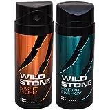 WiLD STONE Night Rider & Hydra Energy (each 150ml) Pack Of 2