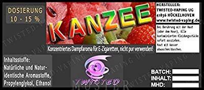 Twisted Aroma Kanzee von Twisted Vaping