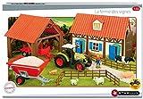 STARLUX - Coffret ferme complète avec tracteur CLAAS et accessoires