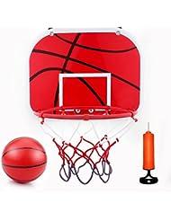 VGEBY Mini Canestro da Basket, Set da Basket Hoop Portatile con Pompa d'Aria per Bambini