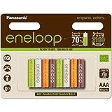 Panasonic eneloop Organic, Ready-to-Use Ni-MH Akku, AAA...