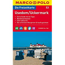 MARCO POLO Freizeitkarte Usedom, Uckermark 1:100.000 (MARCO POLO Freizeitkarten)