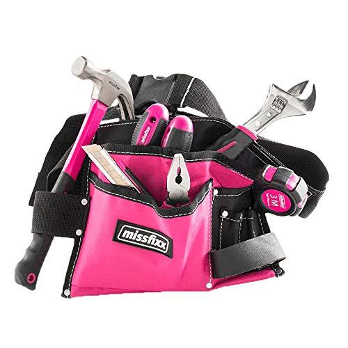 Pinker Werkzeuggürtel