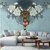 3D Ciudades Americanas Modernas Wallpaper Art Wall Mural Sala De Estar Tv Fondo 8D Pintado A Mano Mural Wallpaper Decor-140CM(H) X200CM(W)