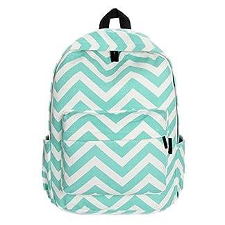 51gJIlLEs4L. SS324  - Malloom®chica doble-hombro dulce raya lona mochila Bolsa para la escuela
