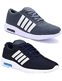 Bersache Combo Pack of 2 Men Sports & Running Sports Shoes