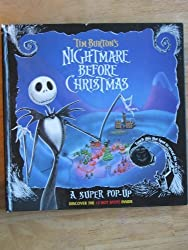 Tim Burton's Nightmare Before Christmas: A Super Pop-Up Book by Tim Burton (1993-10-03)