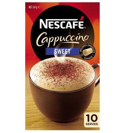 Nescafe Cappuccino Kaffee 10pk x 6 6 Demitasse Cup