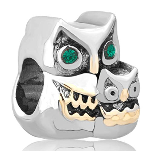 uniqueen-owl-wisdom-charm-green-birthstone-eye-beads-fit-pandora-charms-bracelet
