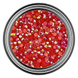 Ab Red Resin Rhinestones In 2mm 3mm 4mm ...